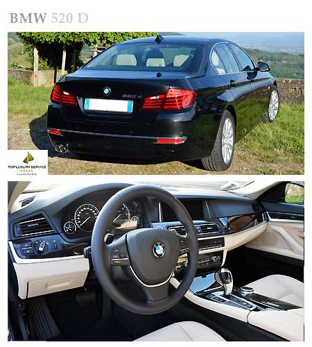BMW 520for rent