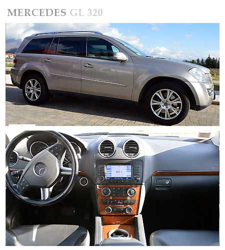 Mercedes GL Class 320 for rent