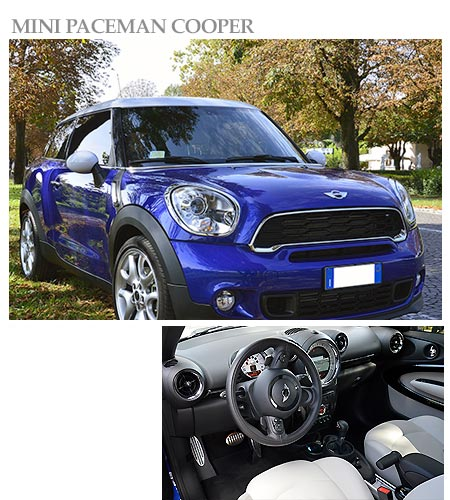 Mini Paceman Cooper for rent
