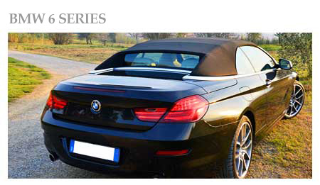 Rent a Bmw 6 Series Convertible in Malpensa Airport