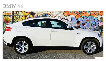 Rent a bmw x6 in Italy
