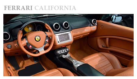 Rent a Ferrari California Black