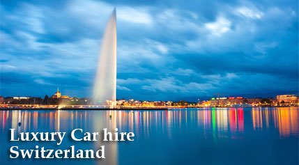 Luxury Car hire Switzerland