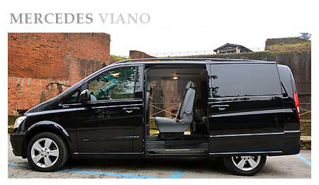 Rent a Mercedes Viano in Switzerland
