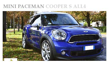 Rent a Mini Paceman in Italy