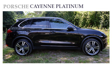 Rent a Porsche Cayenne in Switzerland