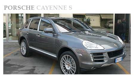Porsche Cayenne S Rental