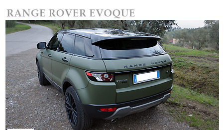 Rent a Range Rover Evoque in Europe