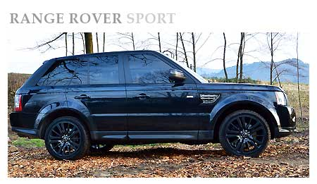 Rent a Range Rover Sport in Italy